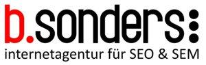 b.sonders internetagentur für SEM & SEO
